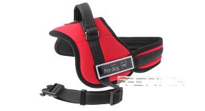 Prsnik za pse Pet Dog crveni 25mm/80-110cm XL