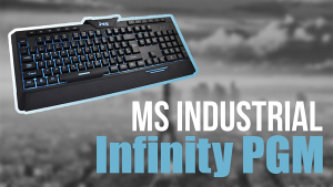 MS Infinity Pro PGM LED gaming tastatura