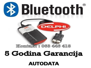 Auto dijagnostika Delphi UK 2019 Univerzalna Bluetooth