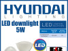 LED downlight 5W
