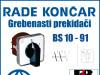GREBENASTI PREKIDAČ/PREKIDAČI BS 10-91