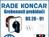 GREBENASTI PREKIDAČ/PREKIDAČI BS 20-91