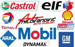 Ulje Castrol Elf Total Mobil Shell Aral