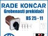 GREBENASTI PREKIDAČ/PREKIDAČI BS 25-11