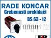 GREBENASTI PREKIDAČ/PREKIDAČI BS 63-12