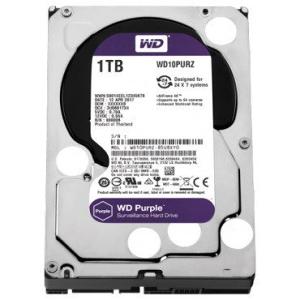 HDD SATA3 7200 1TB WD Purple Surveillance, 64MB
