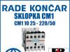 Sklopka/Sklopke CM1 10 25 - 220/50