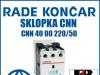 Sklopka/Sklopke CNN 40 00