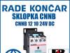 Sklopka/Sklopke CNNB 12 10 24V DC