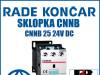 Sklopka/Sklopke CNNB 25 24V DC