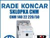 Sklopka/Sklopke CNM 140 22 220/50