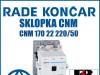 Sklopka/Sklopke CNM 170 22 220/50