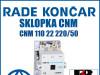 Sklopka/Sklopke CNM 110 22 220/50