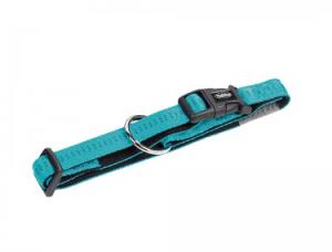 Ogrlica Za Psa NOBBY širina 25mm dužina 50-65cm TIRKIZ
