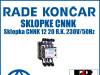 Sklopka/Sklopke CNNK 12 20  230V/50Hz