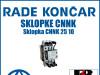 Sklopka/Sklopke CNNK 25 10