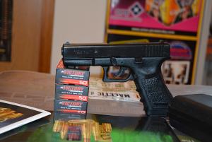 Pistolj plinski BRUNI GAP cal 9mm (startni,plasljivac)