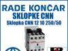 Sklopka/Sklopke CNN 12 10 250/50