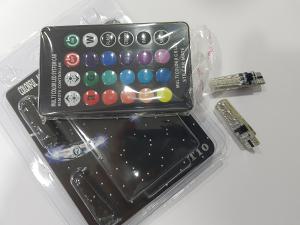T10 RGB LED Sijalice na daljinski za pozicije