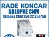 Sklopka/Sklopke CNM 250 22 250/50