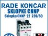 Sklopka/Sklopke CNNP  22  220/50