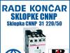 Sklopka/Sklopke CNNP  31  220/50
