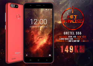 GRETEL S55 /5,5inca /1GB /16GB/**AKCIJA**Android 7.0