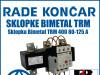 Zaštitna sklopka/sklopke Bimetal TRM 400 80-125 A