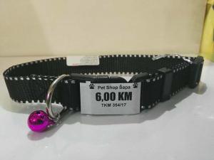 Ogrlica za pse 5901495 crna