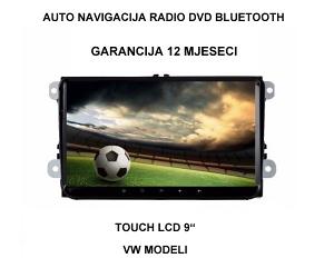 """Auto Radio navigacija 9"""" DVD GPS Octa core 4 GB ram"""