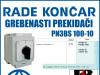 GREBENASTI PREKIDAČ/PREKIDAČI PN3BS 100-10