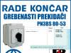 GREBENASTI PREKIDAČ/PREKIDAČI PN3BS 80-53