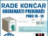 GREBENASTI PREKIDAČ/PREKIDAČI PNBS 10 - 10