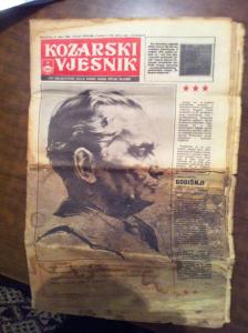 Kozarski Vjesnik izdanje 1980