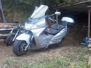 Suzuki Burgman 250cc DJELOVI