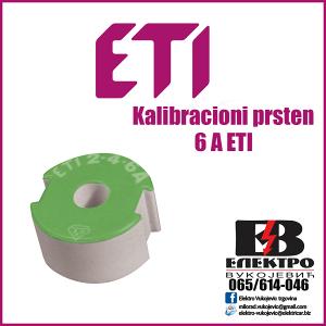 Kalibracioni prsten 6 A ETI