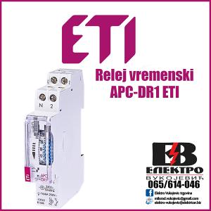 Relej vremenski APC-DR1 ETI