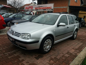 VW GOLF 4 4MOTION 4x4 BENZIN