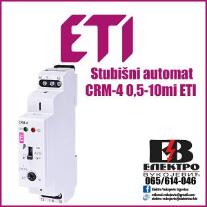 Stubišni automat CRM-4 0,5-10mi ETI