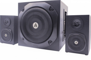 Zvucnici 2.1 Altos AL-S200 40W Wood Black (6219)