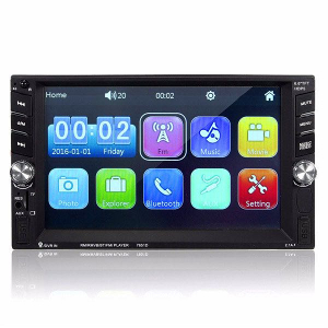 Auto Radio 6.6 MP5 Player 2DIN/7Boja/ TouchScreen/BT