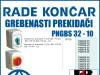 GREBENASTI PREKIDAČ/PREKIDAČI PNGBS 32-10