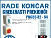 GREBENASTI PREKIDAČ/PREKIDAČI PNGBS 32-54