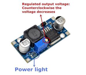 DC-DC regulator napona LM2596 za Arduino