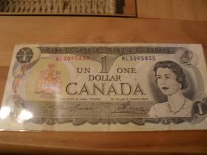 Kanada 1 dolar 1973