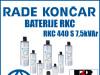 BATERIJA RKC 440 S 7,5kVAr