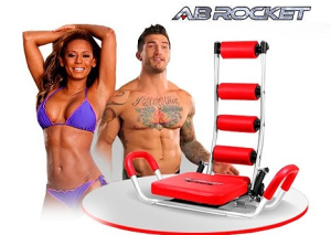 AB Rocket Trening Sprave Sprava za Trbušnjake Trbušne