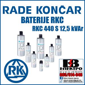 BATERIJA RKC 440 S 12,5 kVAr-a