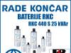 BATERIJA/BATERIJE RKC 440 S 25 kVAr