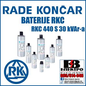 BATERIJA RKC 440 S 30 kVAr-a